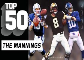 Top 50 plays by the Manning family | NFL Throwback