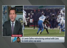 Rapoport: Lions 'drastically reduce' Jamie Collins' cap number for 2021