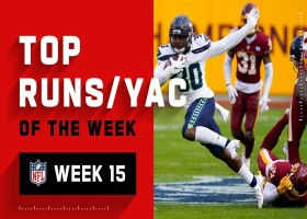Top runs and YAC of the week | Week 15