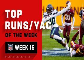 Top runs and YAC of the week | Week 15