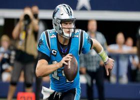 Panthers' top plays through quarter mark of 2021 season