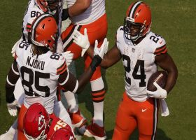 Nick Chubb caps Browns' 13-play opening drive with strong TD