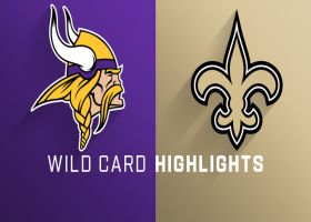 Vikings vs. Saints highlights | NFC Wild Card