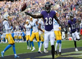 Every Ravens touchdown through seven weeks