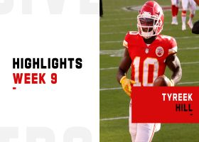 Every catch by Tyreek Hill from 2-TD game | Week 9