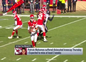 Which Kansas City Chiefs players need to be downgraded during quarterback Patrick Mahomes' recovery? | 'NFL Fantasy Live'