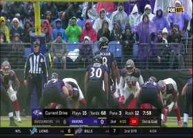 Go inside Baltimore Ravens wide receiver Chris Moore's helmet as he takes the flip for a 5-yard TD | True View