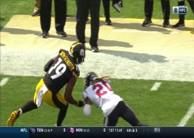 JuJu Smith-Schuster uses acrobatic spin move to move the chains