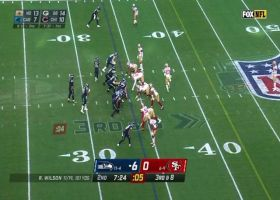 49ers ambush Russell Wilson for huge third-down sack