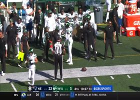 Wilson locates toe-tapping Berrios along sideline for 27 yards
