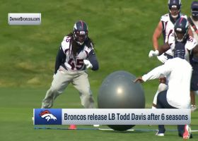 Pelissero: Broncos make 'surprise' release of LB Todd Davis