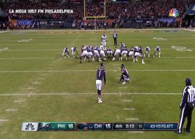 Spanish broadcast call for Cody Parkey's missed field goal