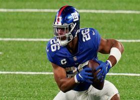 Kim Jones: Saquon Barkley's knee-injury rehab 'every bit as rigorous' as expected