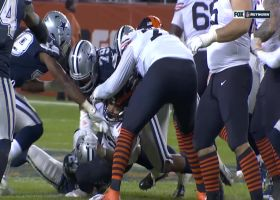 Dallas D delivers forced fumble by ripping ball from Montgomery