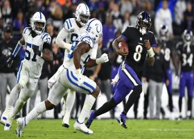 Hall: Lamar Jackson is 'just scratching the surface' of his potential
