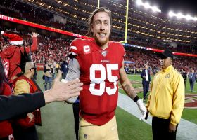 Rapoport: 49ers, Kittle closing in on 'massive' contract extension