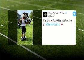 NFL teams celebrate fans returning to training camp