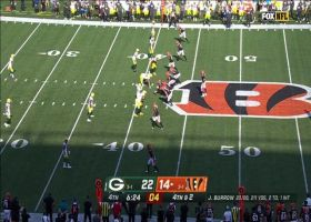 Bengals' gutsy play call converts on fourth down