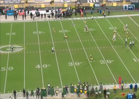 Dallas Goedert's route makes safety fall down on huge 41-yard pickup