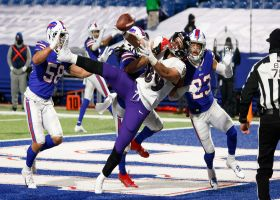 Ravens turn it over on downs after Andrews can't haul in Huntley's fourth-down pass