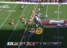 Can't-Miss Play: Stefon Diggs leaves 49ers in the dust on 41-YARD TD