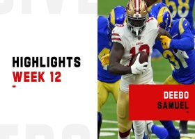Every Deebo Samuel touch from 133-yard game | Week 12