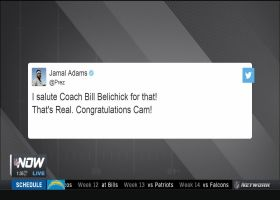 Jamal Adams salutes Belichick for signing Cam in tweet