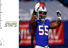 Next Gen Stats: How the Bills shut down the Ravens' attack