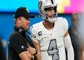 David Carr on Jon Gruden: 'Kind of tough' for Derek Carr, Raiders to move forward