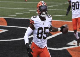 Can't-Miss Play: Njoku's all-out lunge nets diving TD grab