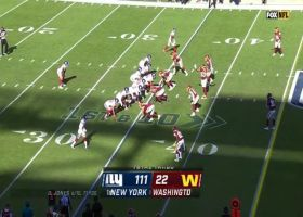Washington snuffs out Giants' flea-flicker for huge sack
