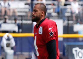 Rapoport: Dak Prescott didn't participate in practice due to shoulder issue