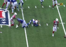 Former Giant Markus Golden strip-sacks Daniel Jones early