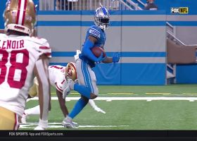 D'Andre Swift swiftly sprints through 49ers secondary for 43-yard TD